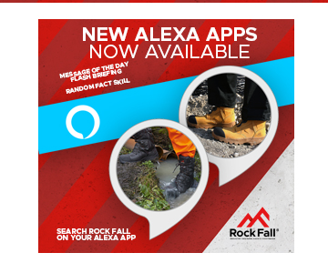 Rock Fall Launch Suite of Amazon Alexa Apps