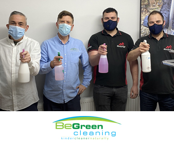 BeGreen Cleaning: One of many steps to being the most sustainable safety footwear brand