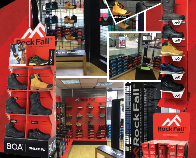 Ultimate Merchant Safety Boot Range with Endless Merchandising Options