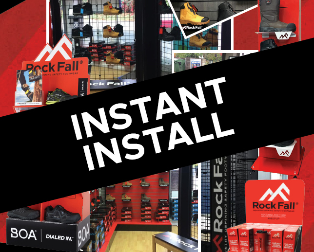 "Introducing: Instant Install from Rock Fall, You might have some old display units or space, let's ""fill it for free"""