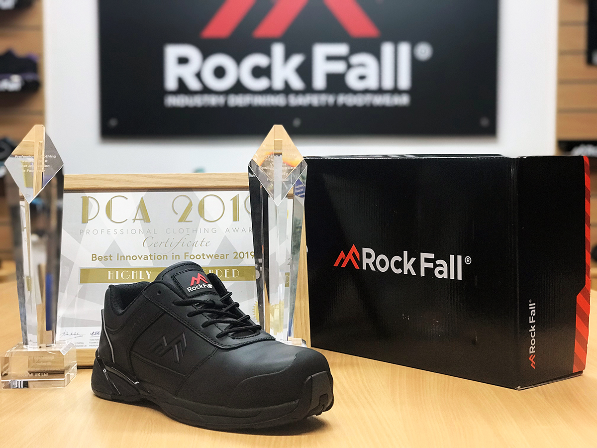 Rock Fall stride into their next sector with development of conductive footwear