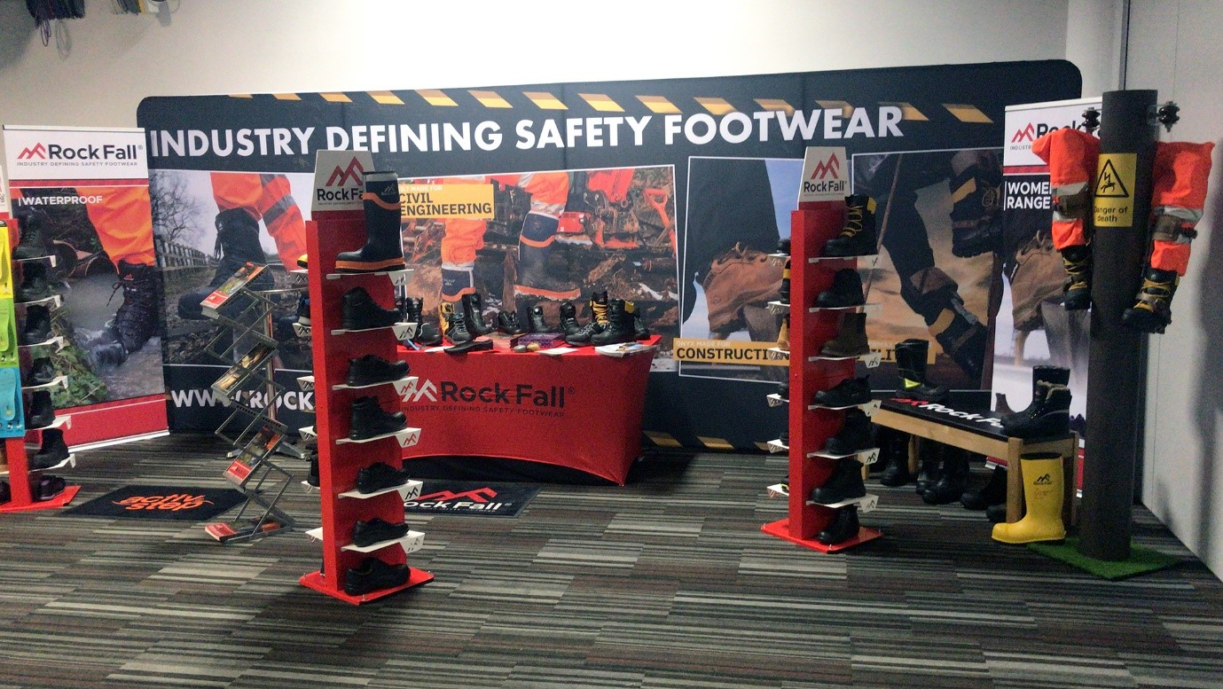 Rock Fall Safety Boots celebrate success at Major National Sales Conference
