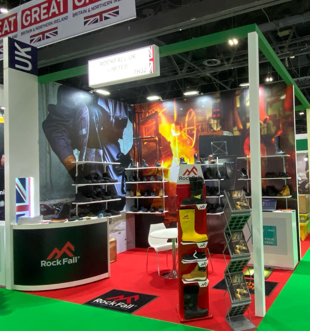 Rock Fall Safety Boots expanding their Worldwide Footprints following a successful exhibition at Intersec, Dubai