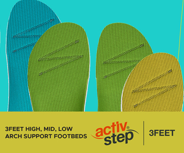Let's take a look at our Activ-Step® 3Feet Footbeds
