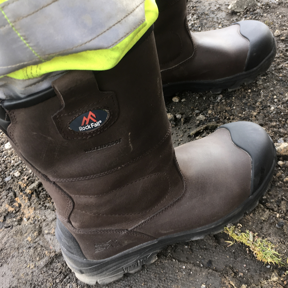 How do I look after my safety boots?